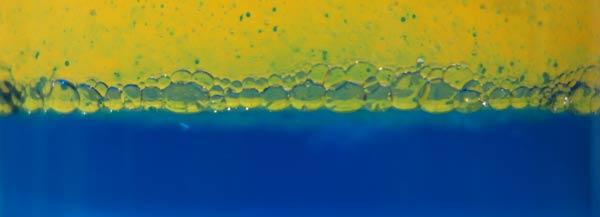 Phasentrennung Wasser Oel