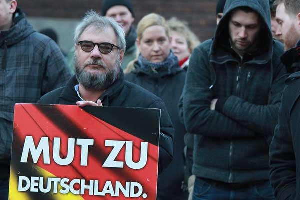 Weber AfD Demo