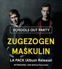 "Noch nicht komplett im Arsch: ""School's Out"" mit Zugezogen Maskulin"