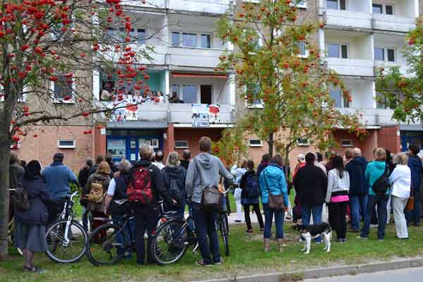 singende balkone- kulturnacht greifswald