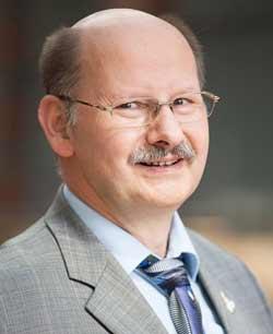 Wolfgang Weiss vom Institut für Geographie in Greifswald