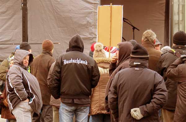 Kundgebung Pro Arndt Greifswald