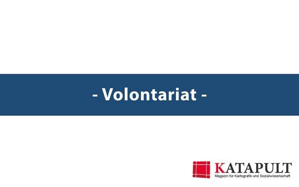 Stellenauschreibung:Volontariat beim KATAPULT-Magazin
