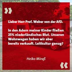 Heiko Miraß über Ralph Weber