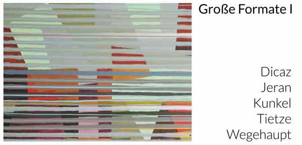 Große Formate 1, Neue Greifen Galerie