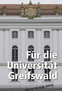Zeitung mit Fakten zum Namensstreit an der Universität Greifswald