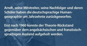Ernst Moritz Arndt aus Sicht der Geographie