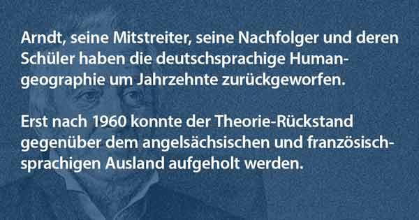 Ernst Moritz Arndt Theoriebildung