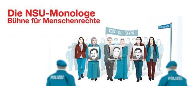 NSU-Monologe, Buehne für Menschenrechte