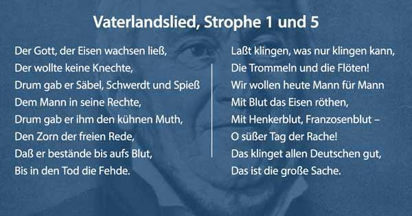 Vaterlandslied Arndt