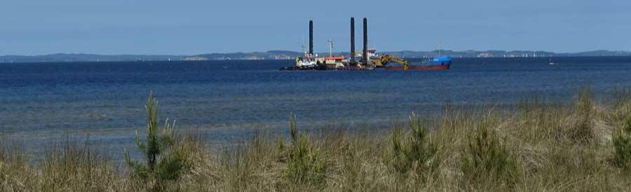 Bauarbeiten Nord Stream 2