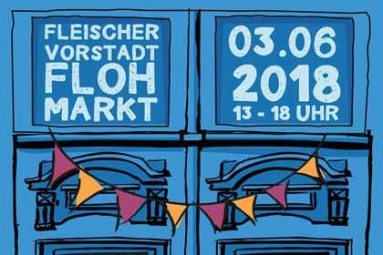 Fleischervorstadt-Flohmarkt 2018