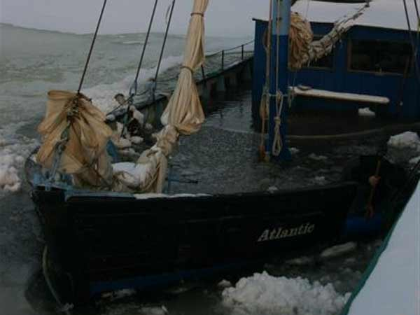 Greifswalder Traditionsschiff Atlantic geflutet