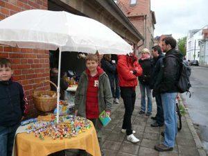 Festgehalten: Fleischervorstadtflohmarkt ohne Unwetter