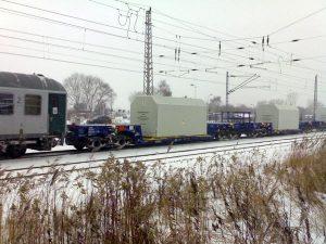 Radioaktiver Reaktordruckbehälter passiert Greifswald