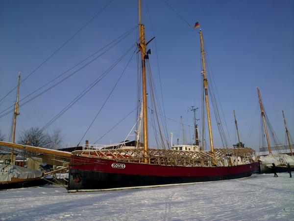 Greifswald im Winter - die Lovis