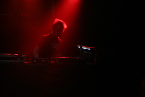 Aftershow mit den alten Resident-DJs
