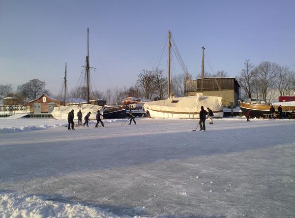 Greifswald im Winter