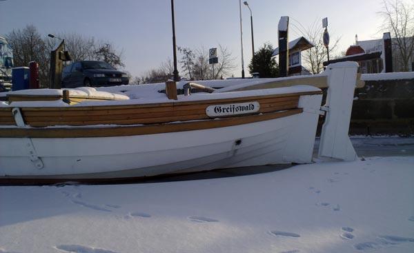 Greifswald im Winter - Zeig, wo du wohnst!