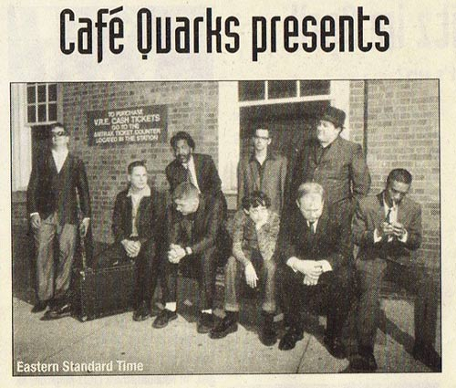 Eastern Standard Time im Café Quarks