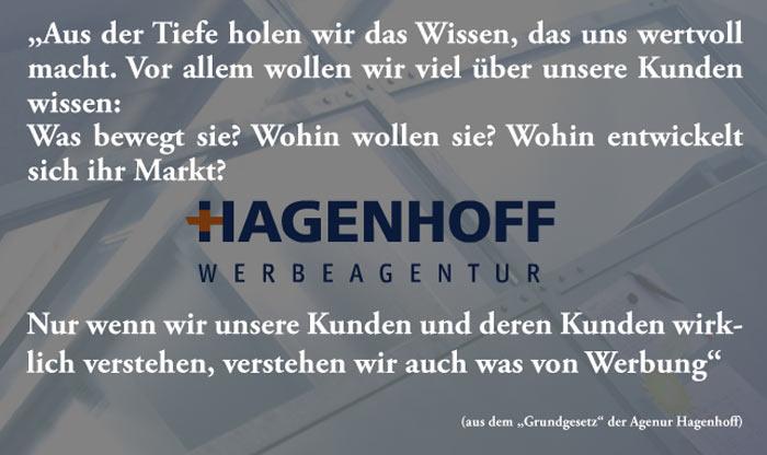 """Auszug aus dem """"Grundgesetz"""" der Agentur Hagenhoff"""