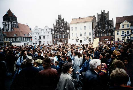 Anti-Atom-Demo, März 1992