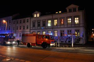 Feuer in der Bahnhofstraße: Brandstiftung?