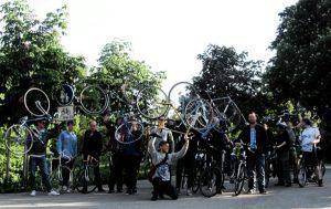 Critical Mass lässt Radlerherzen höher schlagen