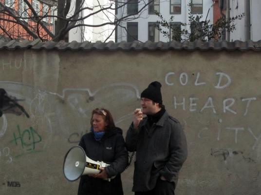 Rettet die Brinke! Mehr als 200 Greifswalder demonstrieren für den Erhalt des vom Abriss bedrohten Gebäudeensembles