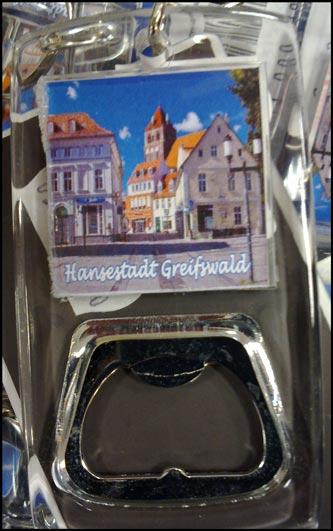 Fanartikel Greifswald: Flaschenöffner
