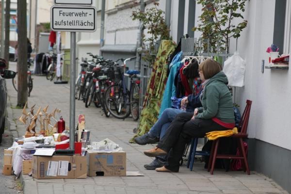 Fleischervorstadt-Flohmarkt 2014