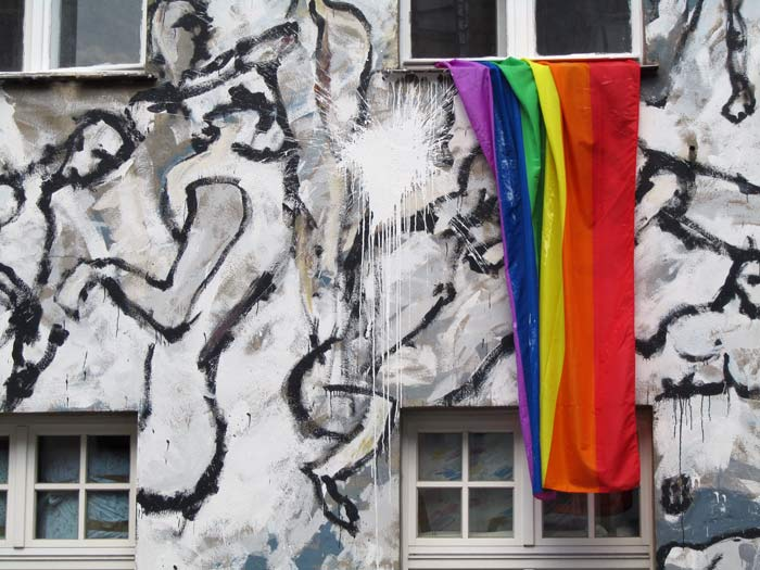 Das Büro der Initiative Queerkompass