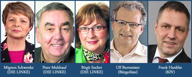 Die Greifswalder Stimmen im neuen Kreistag: DIE LINKE, Bürgerliste und Kompetenz für Vorpommern