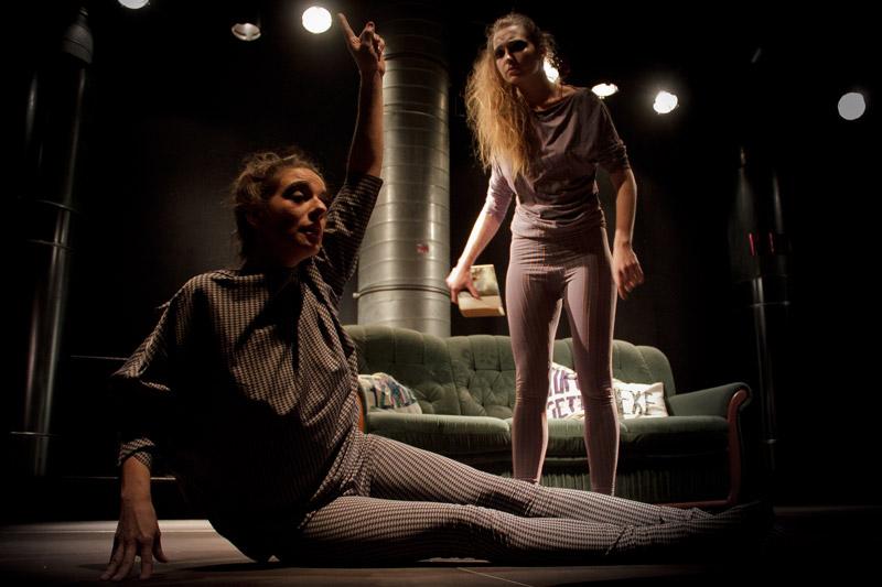 ... sind die Diskurs-Performance-Gruppe Muschiballett