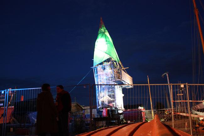 ... und die Museumswerft zu einem kulturellen Leuchtturm im Norden der Stadt machen.