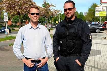 Polizeileiter entschuldigt sich für Foto mit AfD-Fraktionsvorsitzenden Nikolaus Kramer