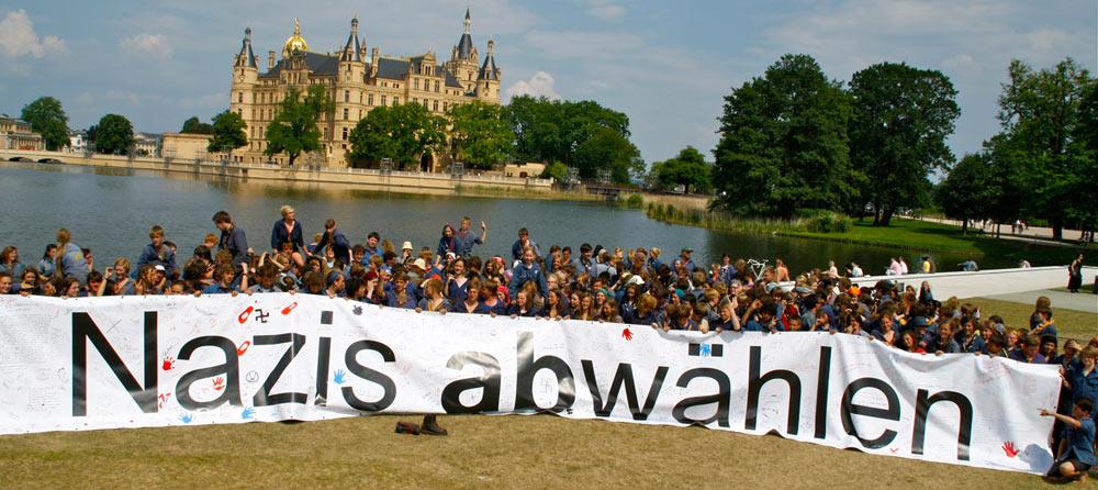 In das Schweriner Schloss soll die NPD nie wieder einziehen