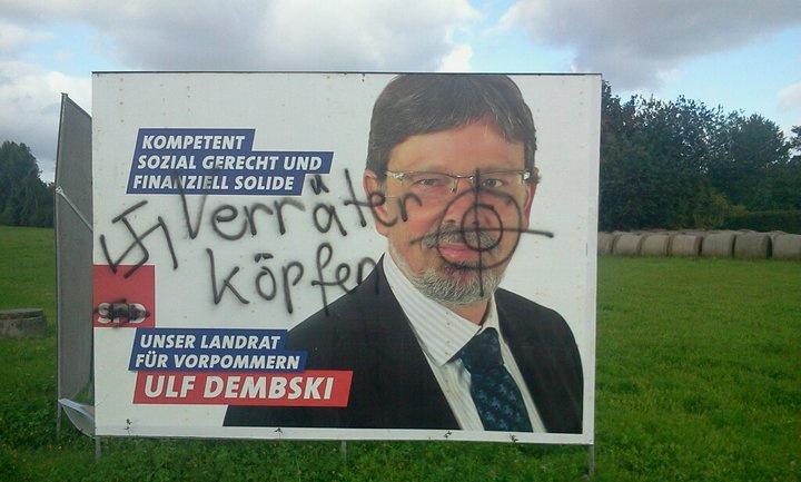 Aufruf zum Mord an Dezernent Dembski?