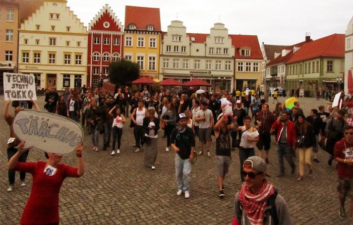 für Clubkultur und deren Erhaltung in Greifswald.