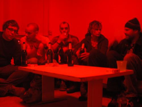 Roter Raum im WBS 70  / Elektro Pröger