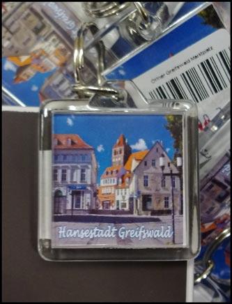 Fanartikel Greifswald: Schlüsselanhänger
