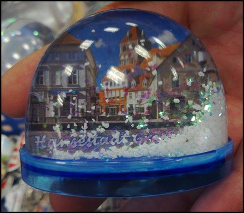 Fanartikel Greifswald: Schneekugel