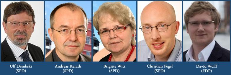 Die Greifswalder Stimmen im neuen Kreistag: SPD und FDP
