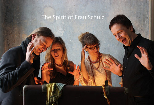 Am zweiten Tag geht es mit The Spirit of Frau Schulz weiter...