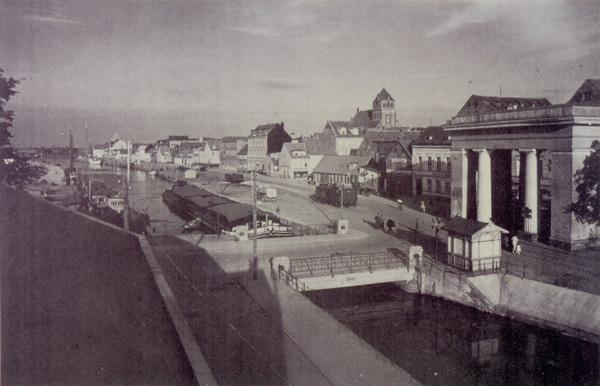 Das Steinbecker Tor in Greifswald