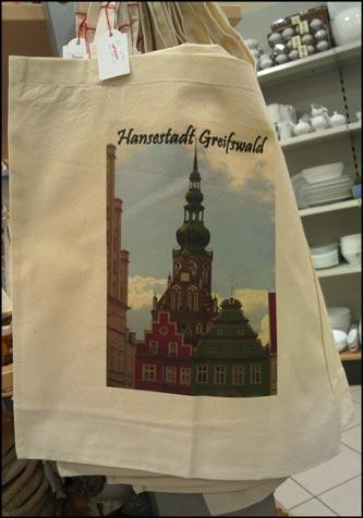 Fanartikel Greifswald: Stoffbeutel
