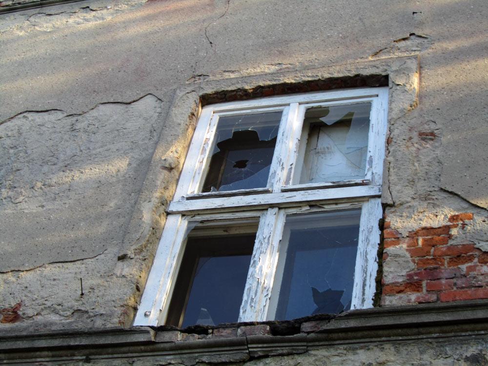 ... hat sich die Bausubstanz dramatisch verschlechtert