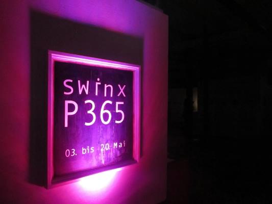 Im Rahmen der Ausstellung P365...