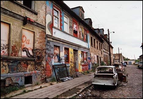 Besetztes Haus in der Pfarrer-Wachsmann-Straße