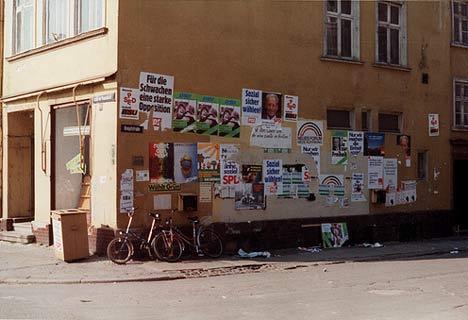 Wahlkampf am Marktplatz - Knopfstraße